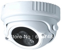 "4pcs/pack vandalproof dome camera, 1/3"" SONY CCD 420TVL, PAL /NTSC, 1 piece array IR-Led 30mtr, without bracket"