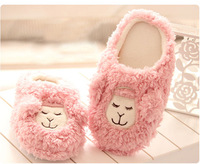 Autumn and winter sheep 2012 sleep peacefully alpaca little sheep plush home floor thermal lovers slippers