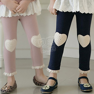 2013 spring compassion funds girls clothing baby child legging long trousers kz-1389