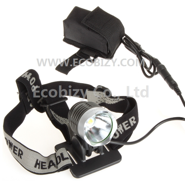 Trustfire Cree Z7 1200Lm LED Bicycle Bike Light and Headlamp, 3 Switch Mode with Battery Pack & Charger, Free Shipping(China (Mainland))