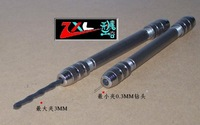 The model tool, Hobby making tool, stainless steel double clamping type drill, Te Ko 0.3MM-3MM.boring crown