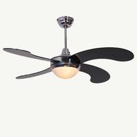 HOT SALE !!! Modern brief dining room fan lights fashion brief coffee shop decaration ceiling fan remote control free shipping