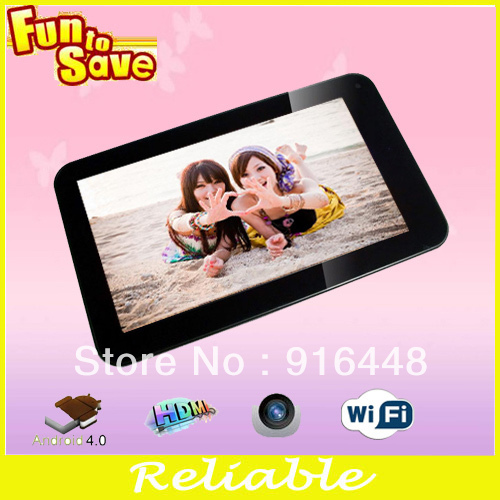 Hot sale popular chinese tablet pc 7inch DDR3 512MB 4GB VIA 8850 Android4.0 tablet pc shop(China (Mainland))