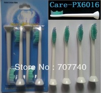 Free shipping 4pcs Angel Whitening PX6016 for philips sonicare  electric toothbrush heads ,Standard bristles(1pack=4 heads)