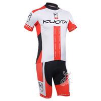2013 Kuota pro team Short Sleeve Cycling Jerseys & Shorts Set, Cycling Wear, Cycling Clothing for Men & Women Wholesale