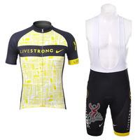 2012 Pro Team Short Sleeve Cycling Jerseys & Cycling Bib Shorts Set, Cycling Wear, Cycling Clothing for Men & Women