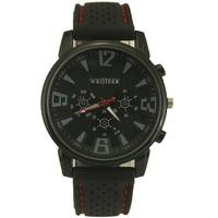 New Arrival! Black Fashion Mens Mans Boys Black Dia Gift Analogue Quartz Wrist Watches. Free & Drop Shipping