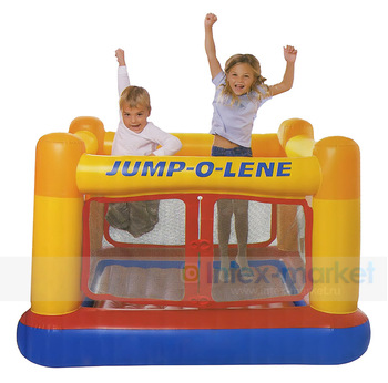 Free Shipping 1 piece the NTEX trampoline Inflatable Bouncer, intex jumping inflatable trampoline