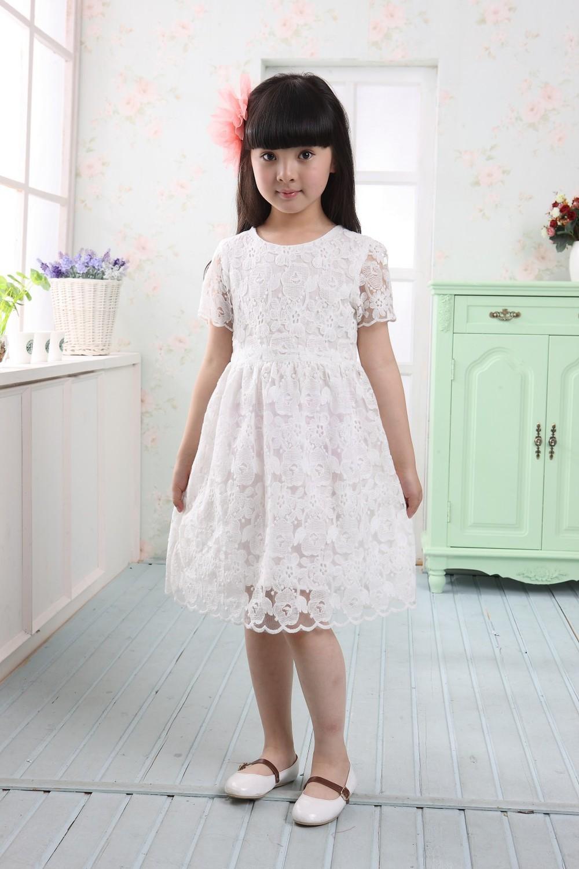 Girl White Dresses