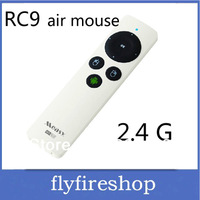 RC9 Gyroscope Operate 2.4G Universal Wireless mini fly Air Mouse 30M Remote Control For Smart TV Box Desktop Laptop Mini PC