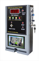 HOT SELLING Coin-operated Breath Alcohol Tester AT319 Breath sampling time about 5 seconds continuous breath.