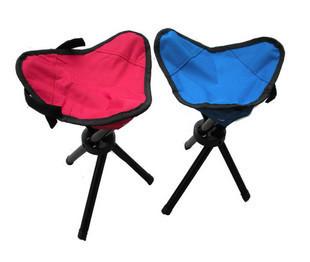 Outdoor folding chair small tressiest fishing stool three legged stool leisure chair fishing supplies