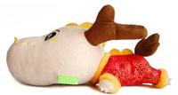 Mascot cartoon bamboo bag doll exhaust pipe auto supplies