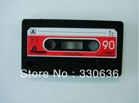 Simple New Arrival Cassette Tape Case for iPhone 3 Soft Tape Case for iPhone 3S 3G free shipping 1pcs/lot