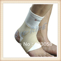 Professional Sports protective gear Pressure Ankle Support for Basketball / Football / Baseball / Tennis White Free shipping