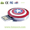 free shipping Genuine capacity captain american USB flash pendrive  4G 8G 16G 32G usb stick