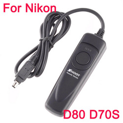 Professional shutter release, Remote SLR Shutter Release Switch Cable For Nikon D80 D70S Freeshipping Dropshipping(China (Mainland))