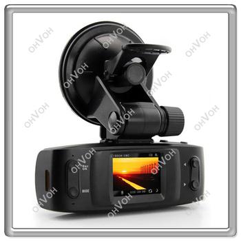 "1.5"" LCD Car DVR Recorder with GPS logger G-sensor H.264 4 IR light Ambarella CPU Free Shipping"