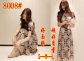2013 free shipping new fashion hot  full dress short-sleeve dress bohemia chiffon skirt ,high quality