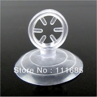 Free shipping, Wholesale 50pcs,  Soft Plastic Suction Cup Inner 8mm for Aquarium  Airline Tube Holder
