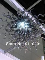 C80--Modern Hand Blown Glass Chandeliers Hotel