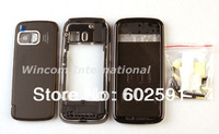 Full Housing Housings Cover Case + Keypad for  Nokia 5800 ( with logo) free shipping  Wholesale