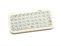 Ultra Slim Mini Portable Wireless Bluetooth Keyboard For iPad 2 3 4 iphone 4 4s 5 Tablet PC Black Free Shipping