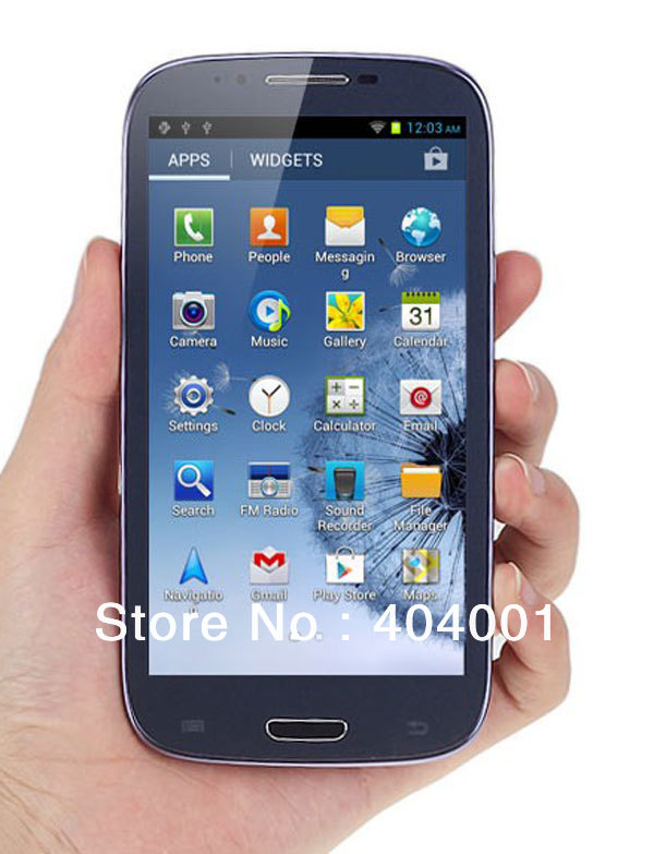 Star N9389 Note II Phones MTK6589 Quad core Android 4.2 1GB RAM 4GB ROM 3G WiFi GPS 8MP Camera Original unlock 5.3 screen LN(China (Mainland))