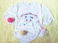 2012 bettr autumn and winter child underwear bamboo fibre baby sleepwear underwear set summer air conditioning service