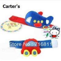 24pcs/lot, Carter's Cute Cartoon Brand Wrist Rattles,Toddler Infant Short Plush toys, 101#