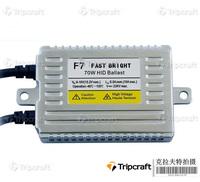 Wholesale - Free 10pcs 35W 55W 70W F3 F5 F7 Fast Bright Ultra Slim Ballasts 0.1 Second Quick Start HID Xenon Ballasts