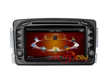 Alex Car DVD Player For Mercedes-Benz CLK-W209  SLK-W170 A-Class W168 7 inch Car GPS DVD Stereo with TV Radio