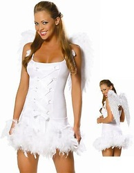 Containing white angel wings, role playing, Halloween night club party(China (Mainland))