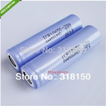 Original 2x SAMSUNG SDI INR18650-28A 3.6V 2800mAh Li-ion Rechargeable Battery 2pcs/lot