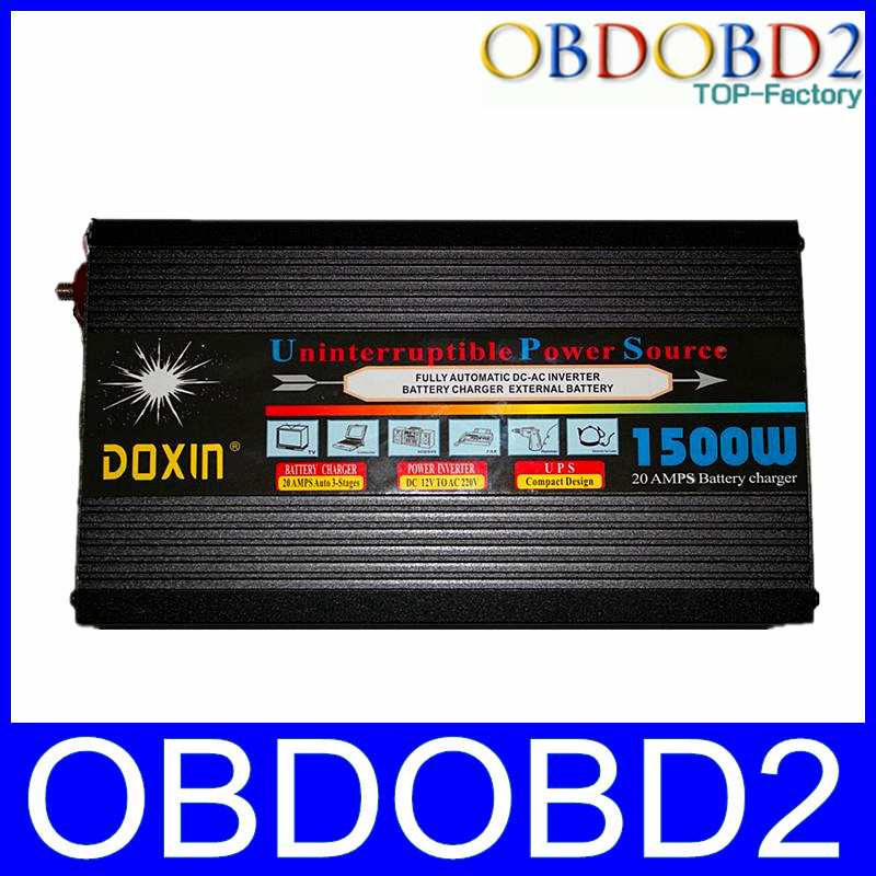 Good Service Never Stop UPS Battery UPS Power Inverter 1500W With 20A 12V DV TO 220V AC UPS High Performance(China (Mainland))