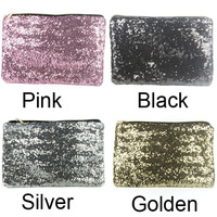 Dazzling Sequins Handbag Party Evening Bag Wallet Purse Glitter Spangle Clutch  KB0032 dropshipping free shipping