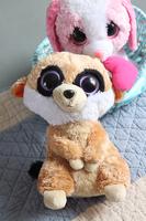 Free Shiping Ty plush toy classic series lempiras dog dolls doll birthday gift kid minnie stitch baby stuffed toy 1