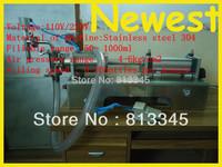 Automatic 50-1000ml stainless steel liquid filling machine for water, beverage , juice ,milk tea
