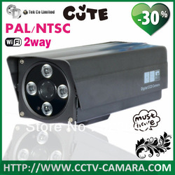 Free Shipping Wireless CCTV High Definition Outdoor Waterproof IR 50M Security IP Camera With IR-Cut(China (Mainland))