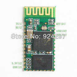 wholesale HC 05 RF Wireless Bluetooth Transceiver Module RS232 / TTL to UART converter and adapter 20PCS/LOT(China (Mainland))