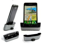 High Quality Brand New Charger Hotsync Dock Cradle For Samsung Galaxy Note 2 N7100 Free Shipping UPS EMS DHL HKPAM