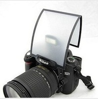 free shipping Universal Soft Screen Pop-Up Flash Diffuser For Nikon Canon Pentax Olympus
