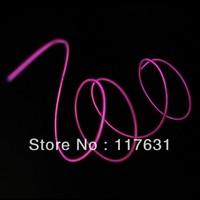 EL Wire - 0.9m - 2.3mm - Pink - Wired