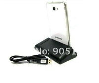 High Quality USB Dual Sync Charger Cradle Dock For Samsung Galaxy NOTE GTN7000 i9220 Free shipping DHL UPS HKPAM#0012