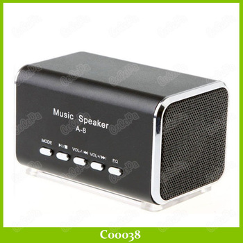 USB Mini Speaker Sport TF Micro SD Music Player With FM Radio Portable Sound Box 5PCS/LOT