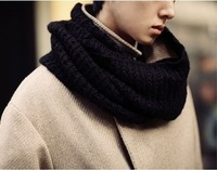 2013 Fashion  new Winter Unisex scarf, knitting shawls ,lady's ring men's scarf,warm and soft, wide size free shipping