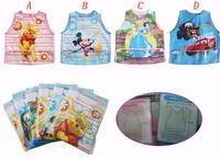Free Shipping Baby overclothes bib waterproof plastic bib disposable bib Retail & Wholesale