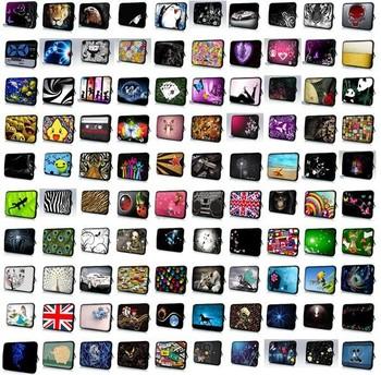 """Wholesale Mix Design 10pcs/Lot 10"""" 10.1"""" 10.2"""" Laptop Netbook Mini Tablet PC Ipad Sleeve Bag Case Cover Pouch"""