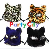 free shipping wholesale 10pcs/lot Mask fashion mask Christmas mask beautiful cat colored drawing masks