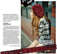 Autumn and winter fashion VIVI female models princess really rabbit hair beret